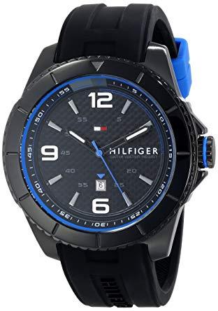 Tommy Hilfiger 1791017 男士膠帶手錶