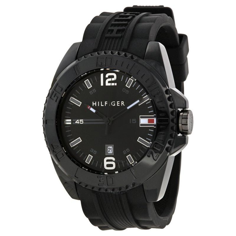 Tommy Hilfiger 1791041 男士膠帶手錶