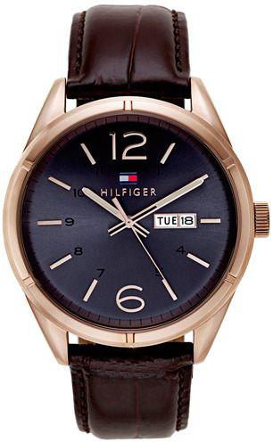 Tommy Hilfiger 1791058 男士皮帶手錶