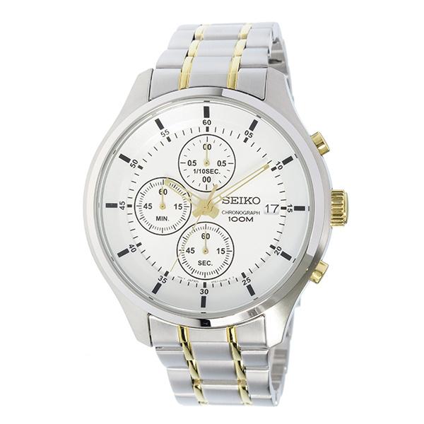 Seiko SKS541P1 男士不鏽鋼銀白色手錶
