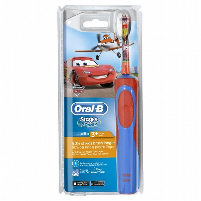 Oral-B D12.513 兒童充電電動牙刷 可連接APP使用 [2款色]