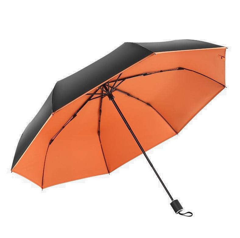 boy 三折防風防曬防潑水摺疊雨傘 (禮盒裝) [多色]