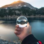 Lensball 水晶玻璃球濾鏡 [2尺寸]
