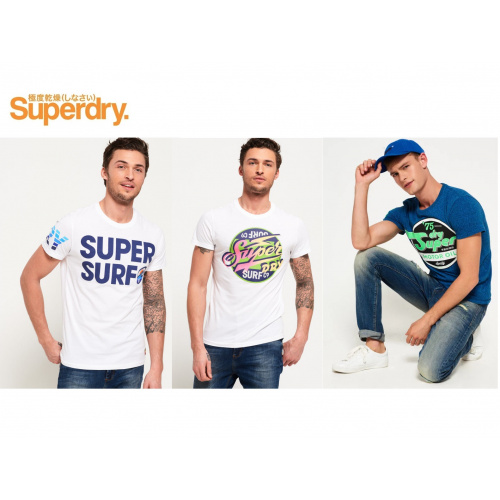 Superdry 男裝短袖T恤 [3款]