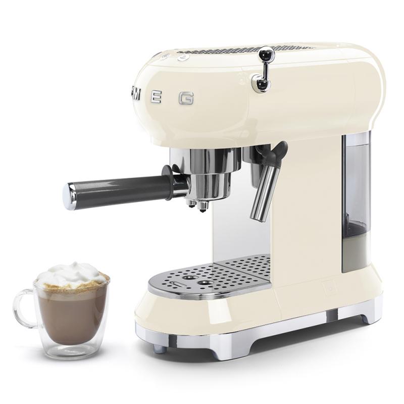 SMEG ECF01 復古意式濃縮咖啡機 [3色]