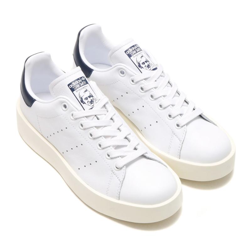 Adidas Originals Stan Smith Bold 女裝鞋 [藍白色]