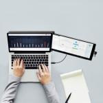 美國DUEX 全球首款攜帶/磁吸式手提電腦外接螢幕