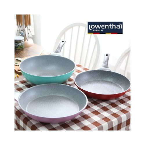 Lowenthal 石塗鍋 [煎Pan/炒鍋/雙耳深鍋] [2尺寸]