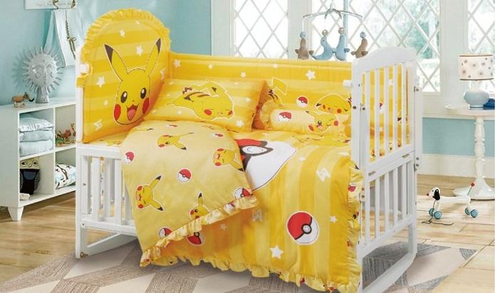 Casablanca Pokémon 精靈寶可夢嬰兒床上用品套裝 (PM001)