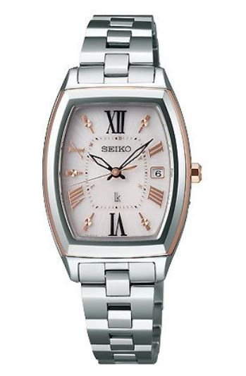 Seiko 精工LUKIA SSQW032 太陽能時尚女裝手錶