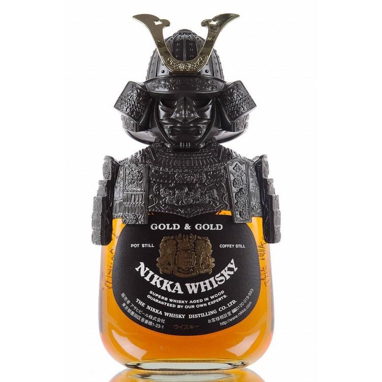 余市 NIKKA Gold & Gold Whisky 武士頭限量紀念珍藏版 (單一麥芽威士忌)