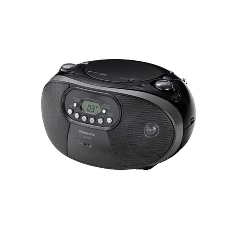 Panasonic 多功能手提音響 (RX-DU10GS-K) [黑色]