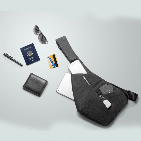 NIID X URBANATURE D1 ANTI-THEFT CHEST PACK 第三代超薄貼身防盜包