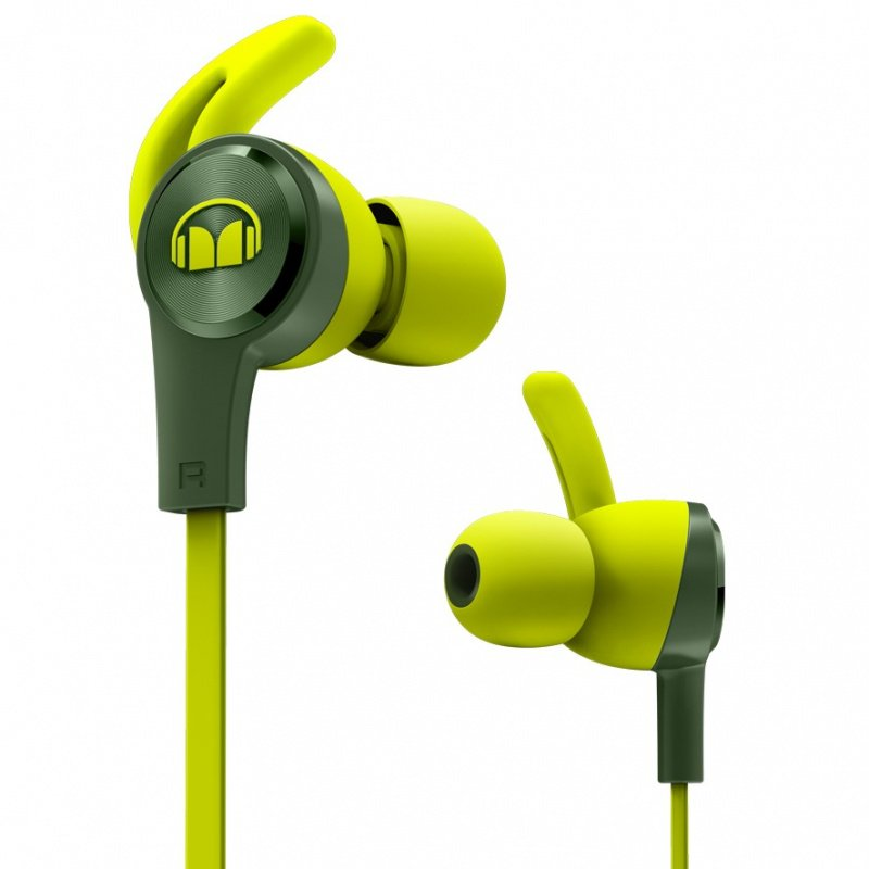Monstei iSport 運動耳機[綠色]