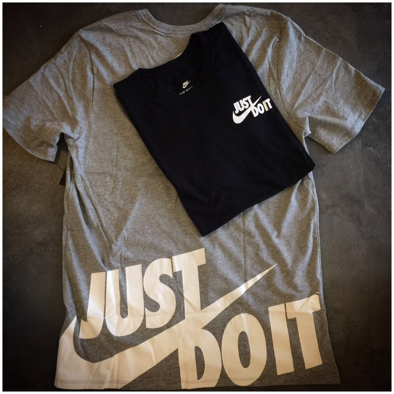 "NIKE TEE SHIRT ""JUST DO IT"""
