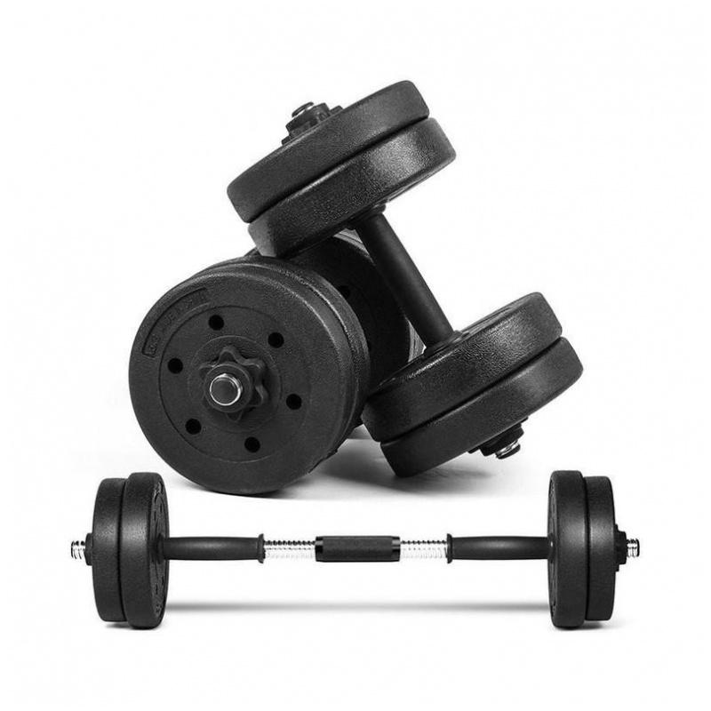 塑膠啞鈴 附連接器 (可選重量︰10/15/20/30/40 kg)