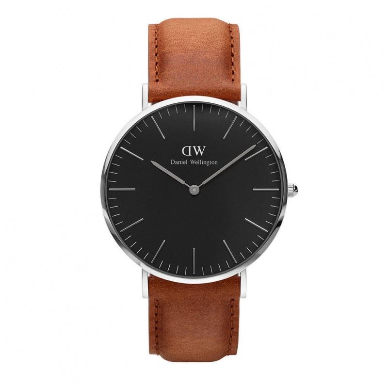 Daniel Wellington Classic Black Durham 經典皮帶錶 (40 36mm)