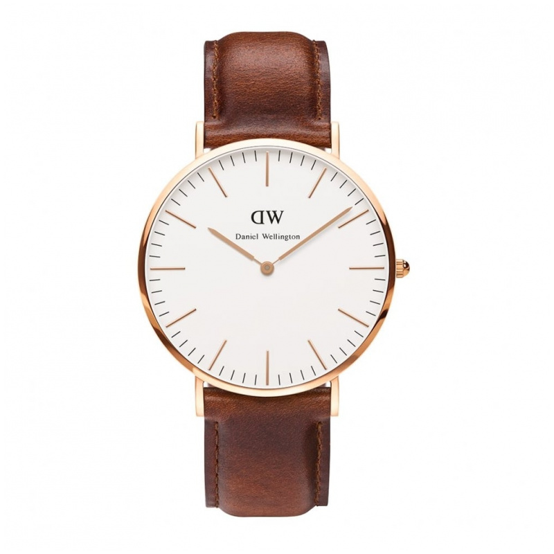 Daniel Wellington Classic St Mawes 經典皮帶錶 (40 36mm)