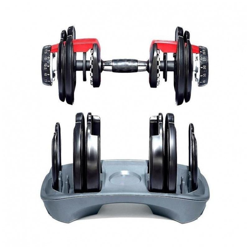 可調式啞鈴 重量可調節(2.3-24KG)