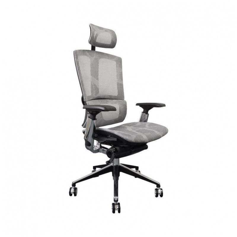 B06A 人體工學辦公椅 電腦椅 鋁合金腳 (灰/綠/黑)