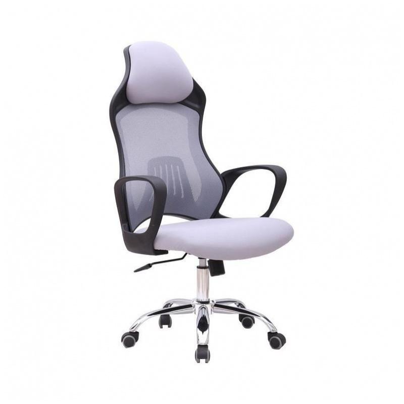 D38 辦公椅 電腦椅 賽車款 電競椅 電鍍鋼腳 (灰/藍/黑)