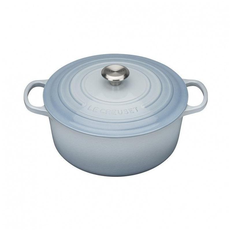 Le Creuset 鑄鐵鍋 淺藍 (20cm/26cm/28cm)