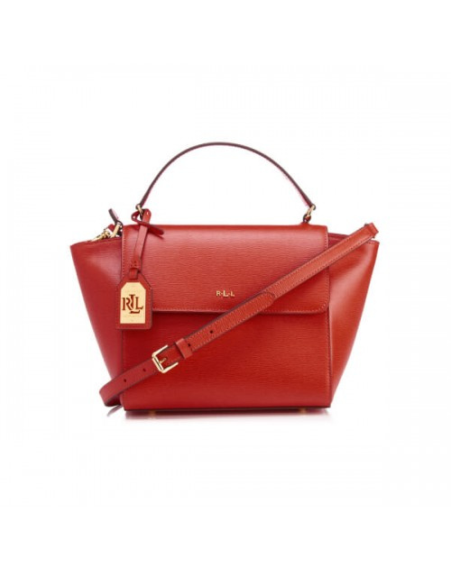 Ralph Lauren Leather Barclay Crossbody Bag 女裝皮革斜挎包 (LAU-431644275-004)
