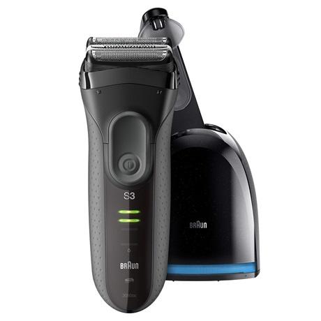 Braun 3050cc 男仕全水洗充電鬚刨 (連充電清洗座)