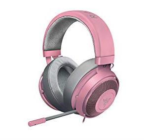 Razer Quartz Pink Kraken Multi-Platform Wired Gaming Headset
