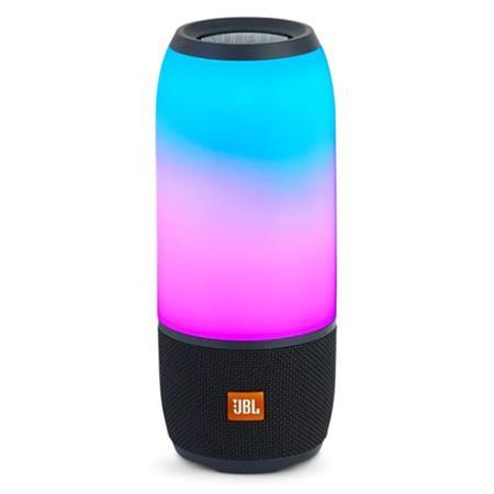 JBL PULSE 3 360° 幻光燈IPX7防水便攜無線揚聲器 (白色)