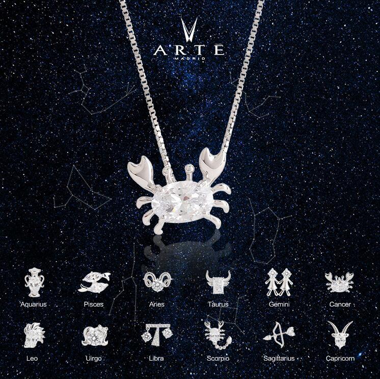 ARTĒ Madrid 閃爍十二星座系列 Astro Icons 頸鏈