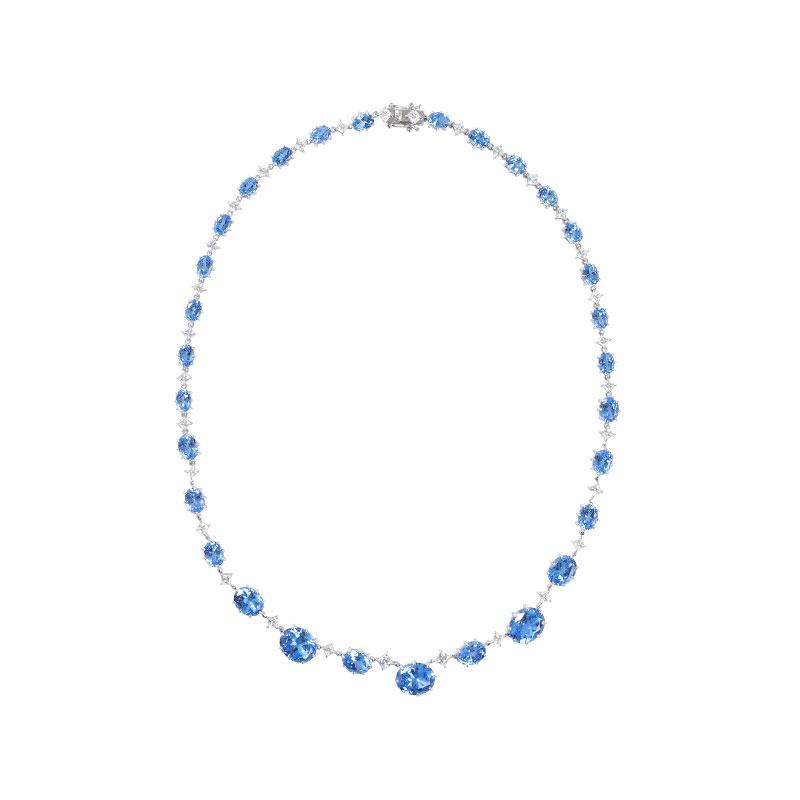 ARTĒ Madrid - Tropical Dream Blue Lagoon 頸鏈/耳環/手鏈/戒指