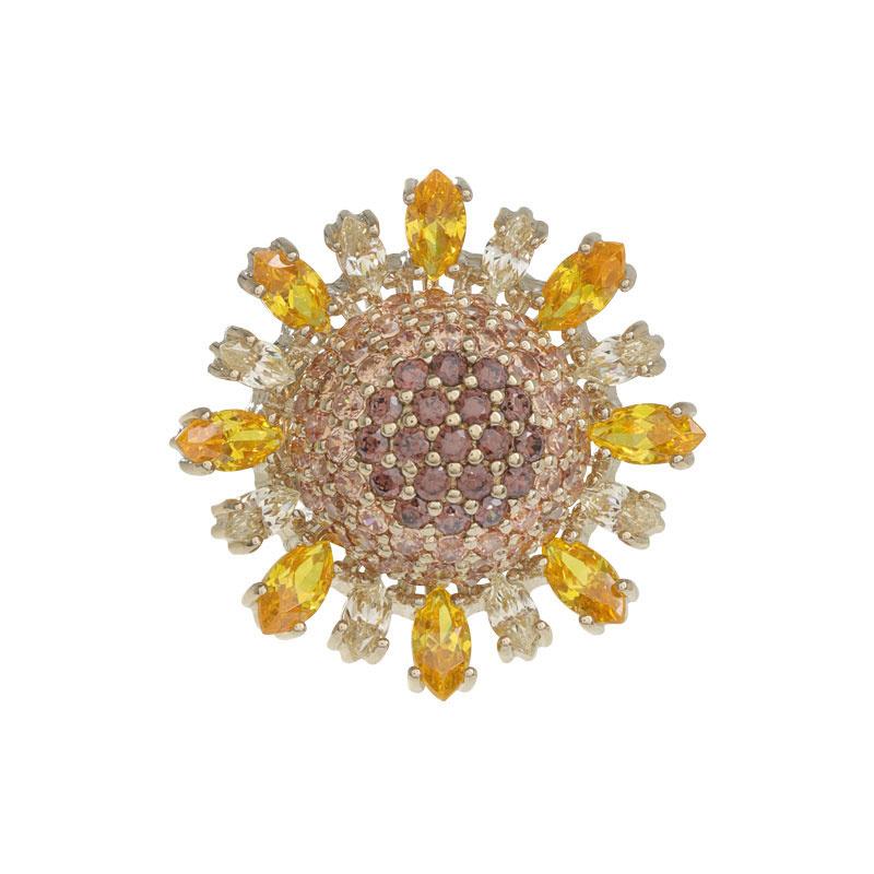 ARTĒ Madrid - Tropical Dream Golden Sunflower 耳環/戒指