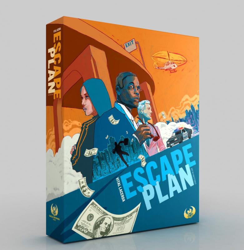 逃脫計畫 眾籌版 - Escape Plan KS version