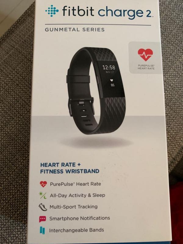 Fitbit Charge 2 HR 心率監測智能運動手環 [2色]