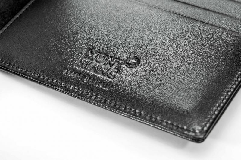 Montblanc 7162 大師傑作(大班)系列 11卡短皮夾