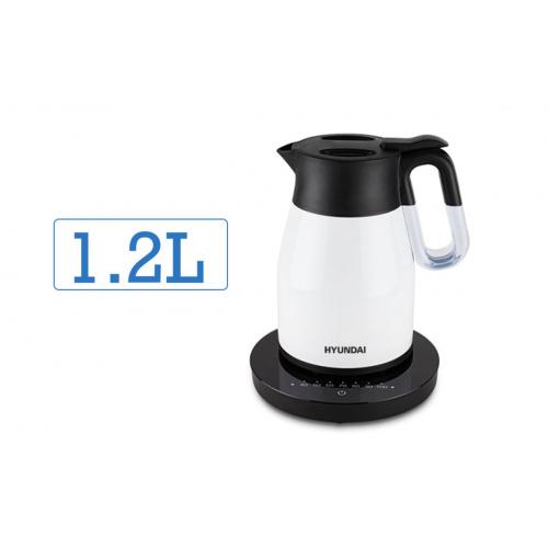 現代 真空無線控溫電熱水壺 1.2L [HY-KT12EK] [白色]