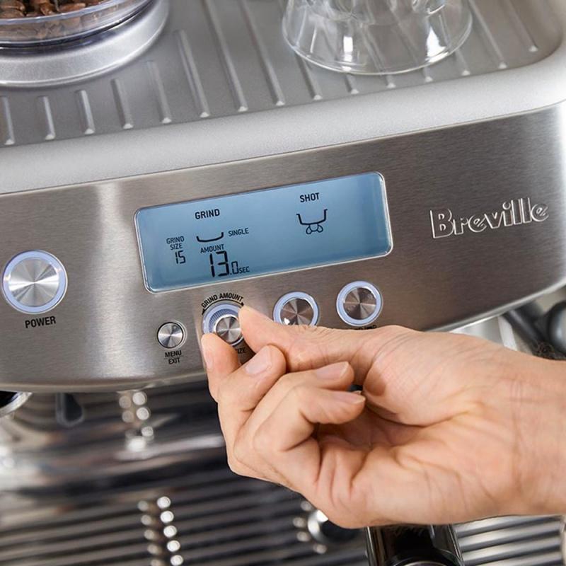 Breville 智能意式咖啡機 BES878BSS