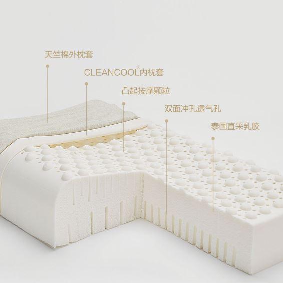 米家 8H 天然乳膠舒壓按摩枕Z3