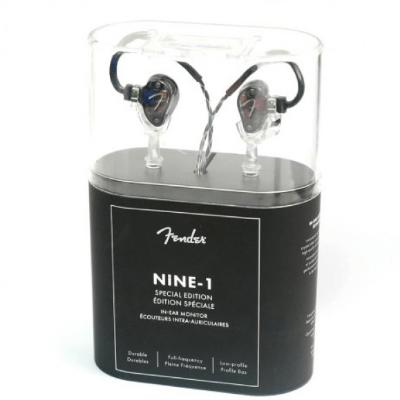 Fender Nine 1 SE- 透明面板別具型格(特別版Transparent Charcoal)(原裝行貨保養 1 年)