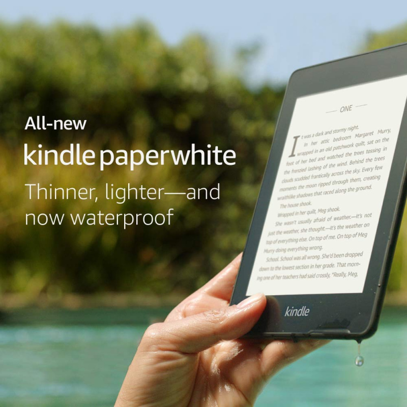Amazon Kindle Paperwhite 電子書閱讀器8GB WiFi 2018防水版KPW4