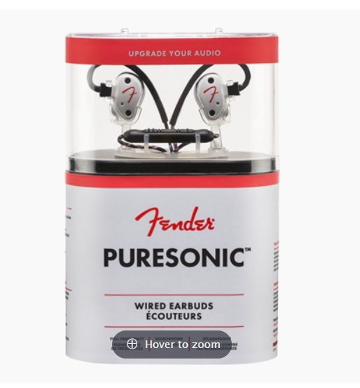 Fender AE1i Audio Enhancer 轉換線 + Fender Puresonic Wired Earbuds 【套裝】【2色】(原裝行貨保養 1 年)