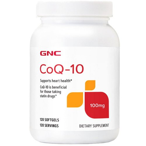 GNC - 超值加量裝Q10 輔酵素精華膠囊 [120粒][100 毫克]