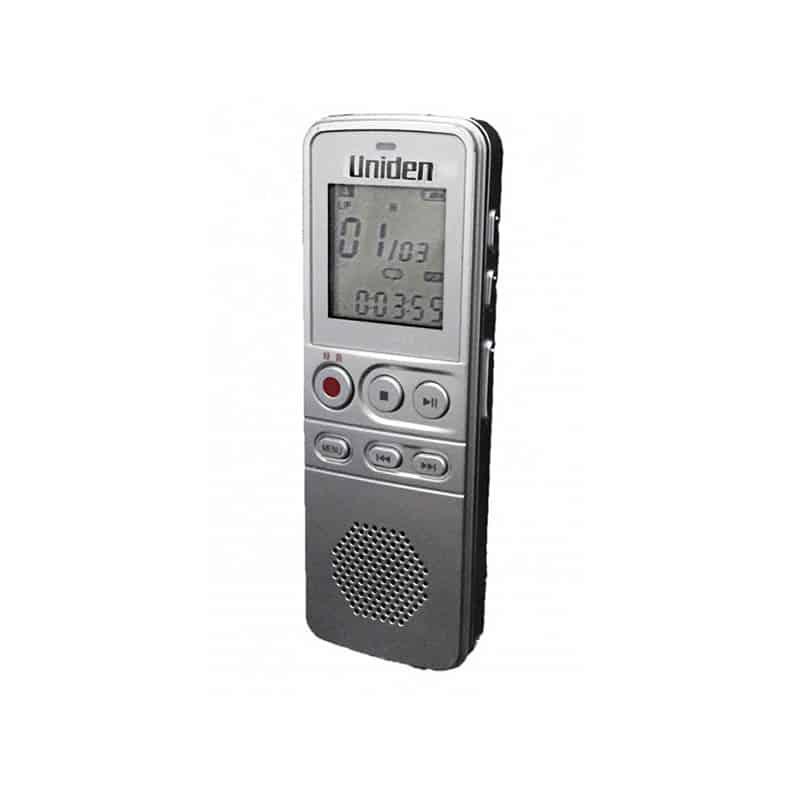 日本品牌 Uniden AA1103 8GB錄音筆 [8GB內存, 高靈敏度外置麥克風和揚聲器質量]