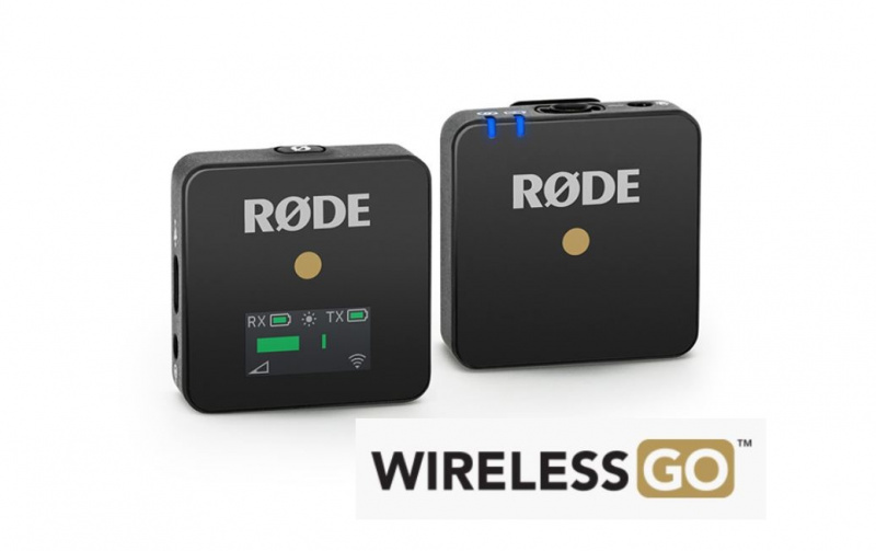 RODE WIRELESS GO 緊湊型無線麥克風系統 [香港行貨]