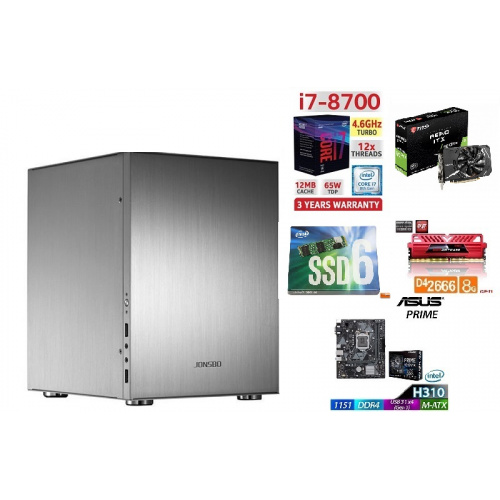 AccessPoint強(細)INTEL I7 8700 ITX高清4K文書組合