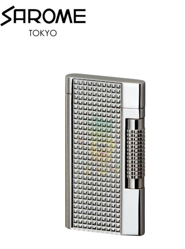 SAROME - Silver Lattice Diamond Cut SD7-09 打火機