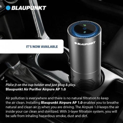 德國 BLAUPUNKT AIR PURIFIER AP 1.0 汽車用空氣靜化機空氣清新機