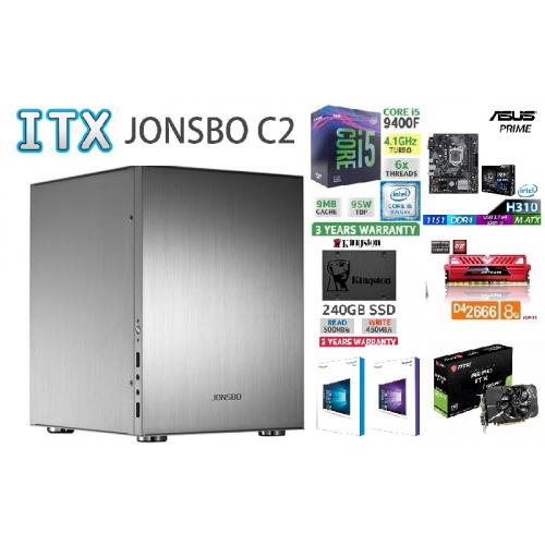 AccessPoint強(細)INTEL I5 9400F ITX高清4K文書組合