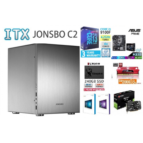AccessPoint強INTEL I3 9100F ITX高清文書組合
